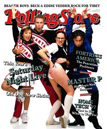 RS774~Cast-of-Saturday-Night-Live-Rolling-Stone-no-774-December-1997-Posters